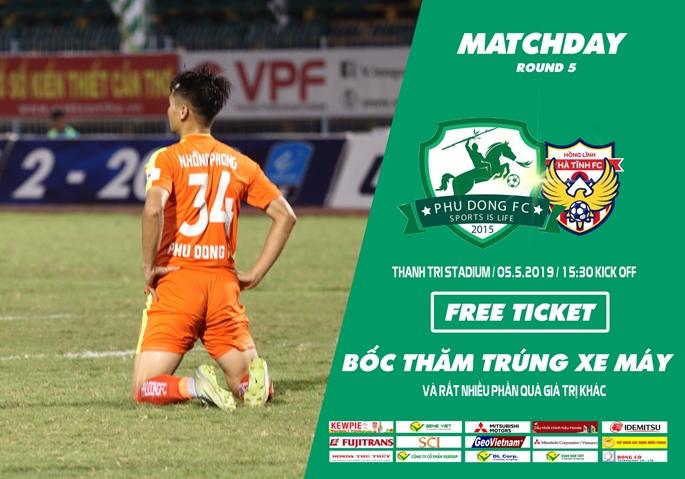 Highlight : Vòng 5 LS Vleague 2 -2019 : Phù Đổng FC vs Hồng Lĩnh Hà Tĩnh