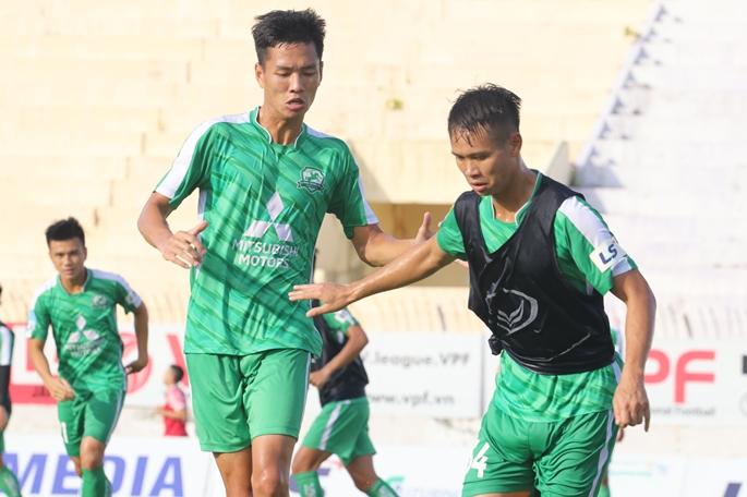 Phù Đổng FC có buổi tập cuối trước khi đối đầu với CLB Bình Định