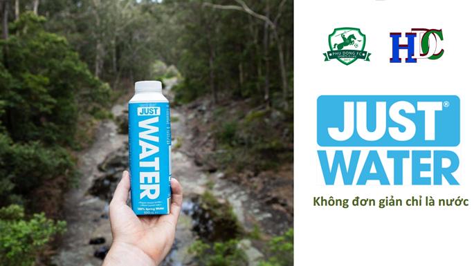 JUST WATER - KHÔNG CHỈ ĐƠN GIẢN LÀ NƯỚC